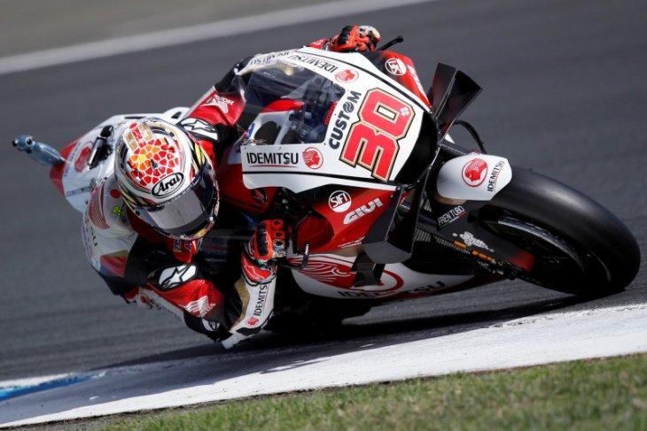 Nakagami raih pole position perdana di Grand Prix Teruel