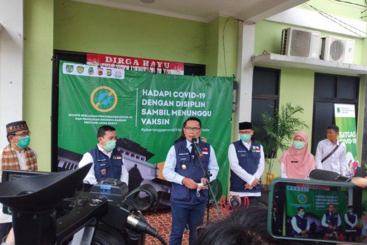 Ridwan Kamil nyatakan Provinsi Jabar siap untuk menerima vaksin COVID-19