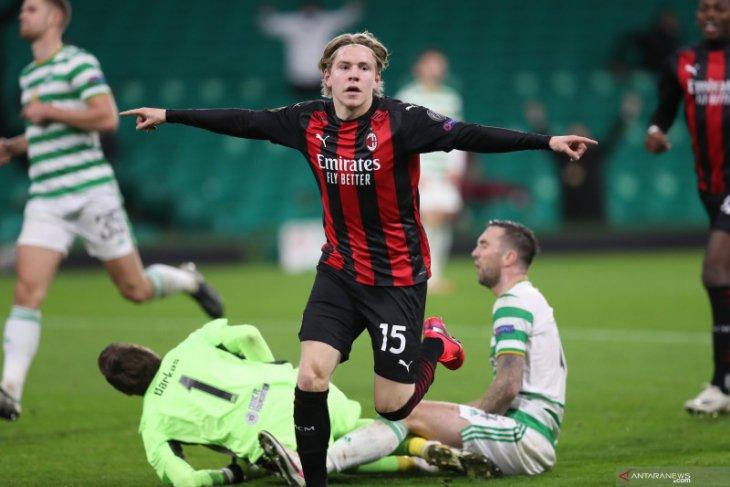 Liga Europa - AC Milan duduki posisi dua klasemen Grup H setelah kalahkan Celtic 3-1