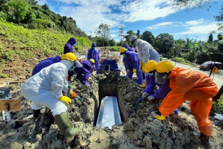 Pasien COVID-19 di Maluku meninggal dunia jadi 45 orang
