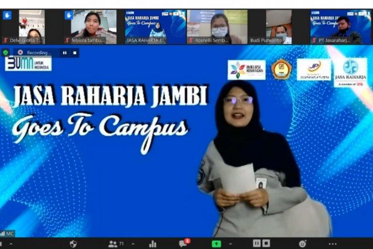 Sambut bulan inklusi keuangan, Jasa Raharja Jambi goes to campus