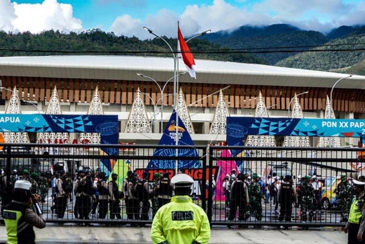 Jelang peresmian venue PON XX Papua