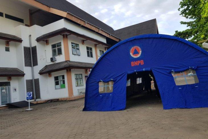 RSUD Soedarso Pontianak dirikan tenda darurat antisipasi peningkatan pasien