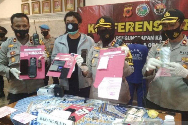 Polres Sukabumi Kota sita barang bukti narkoba senilai ratusan juta rupiah (video)
