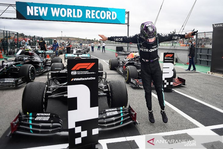Lewis Hamilton pecahkan rekor kemenangan di F1