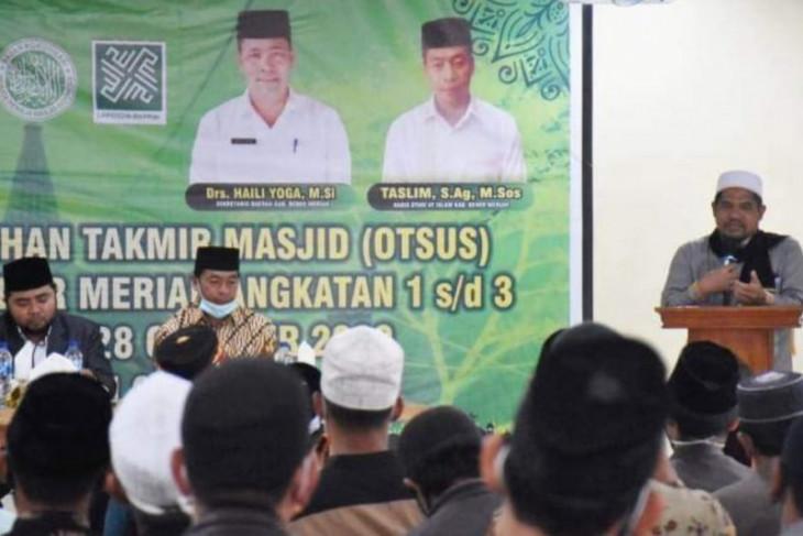 Bupati Sarkawi dorong Takmir punya terobosan memakmurkan masjid