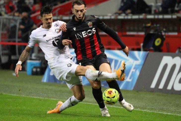 Liga Prancis: Ditahan imbang Nice, Lille gagal geser PSG dari puncak klasemen
