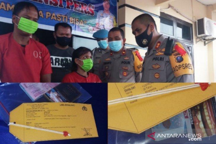 Polres Tanjungbalai ringkus pasutri pelaku curas