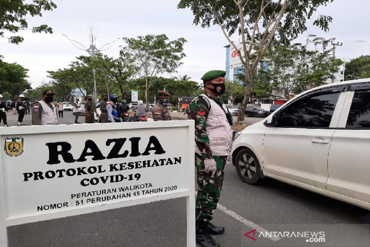 Banda Aceh kumpulkan Rp 15 juta dari pelanggar protokol kesehatan