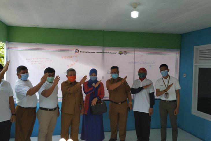 DPPU Pertamina meresmikan tiga program kepedulian sosial di Kubu Raya