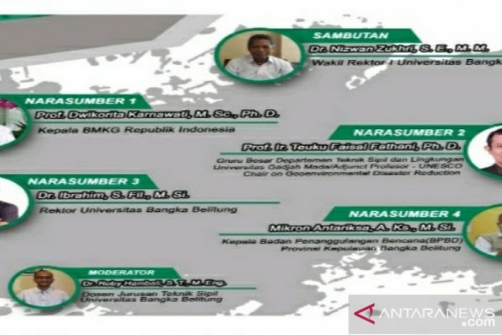 UBB gelar webinar Kebencanaan di Indonesia
