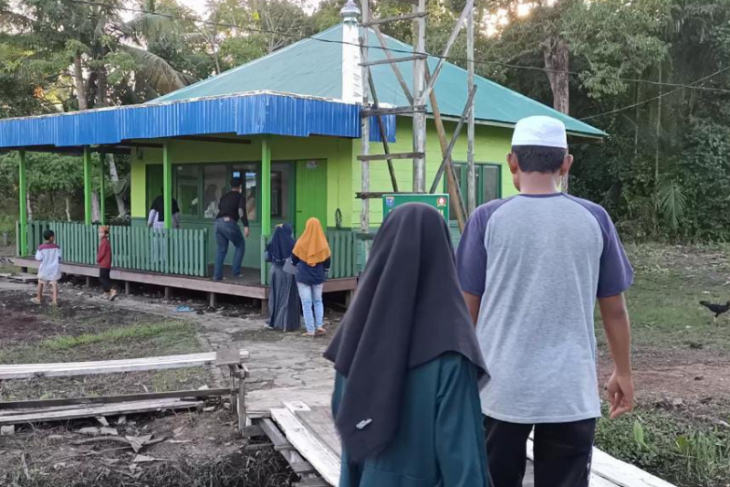 Mushola Al Hidayah jadi tempat beribadah yang layak bagi warga Bapinang Hulu