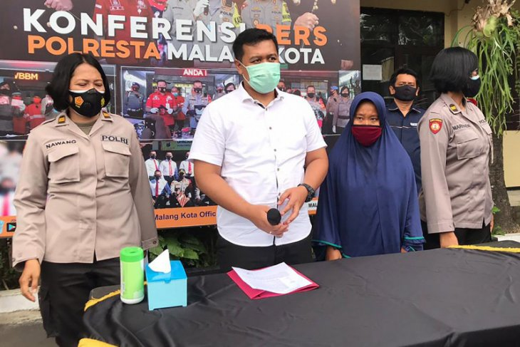 Polresta Malang Kota amankan seorang perempuan aniaya ibu kandung