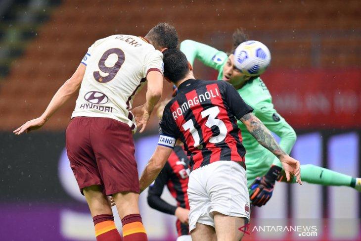 Start sempurna AC Milan dihentikan AS Roma