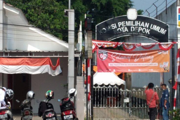 KPU Depok belum jadwalkan kapan acara sesi debat kandidat pilkada