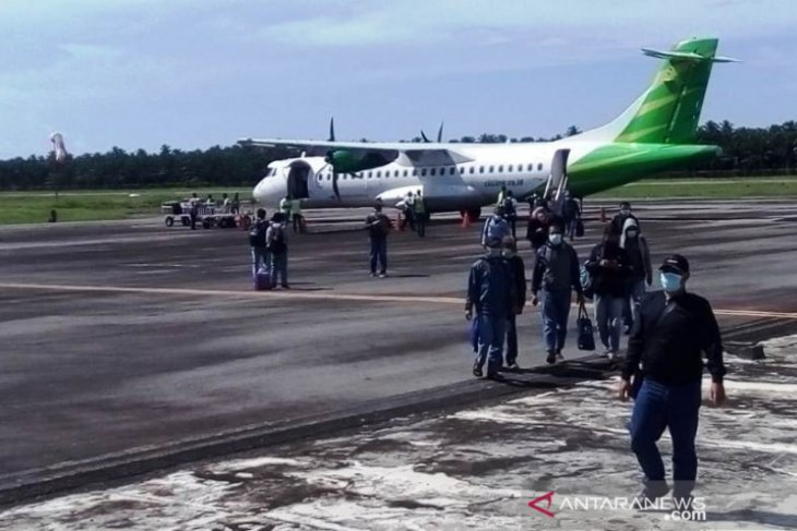 Lagi, Citilink mendarat di Nagan Raya dari Jakarta