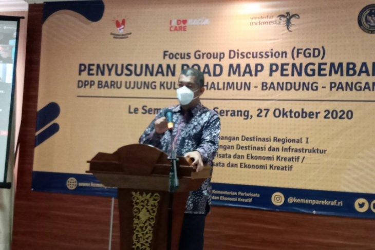 Kemenparekraf kaji pengembangan pariwisata Ujung Kulon sampai Pangandaran