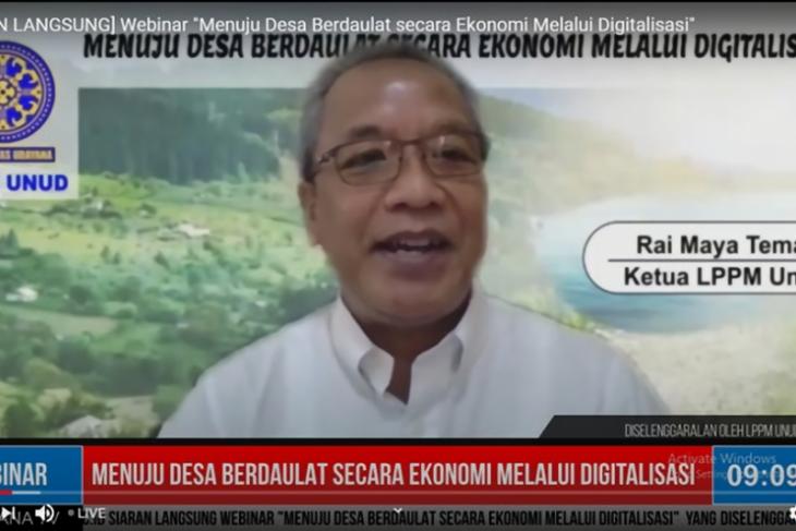 LPPM Unud dukung digitalisasi manajemen desa berbasis kearifan lokal