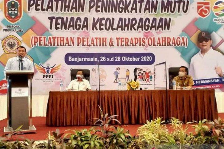 Kalsel gembleng pelatih dan terapis persiapan PON Papua