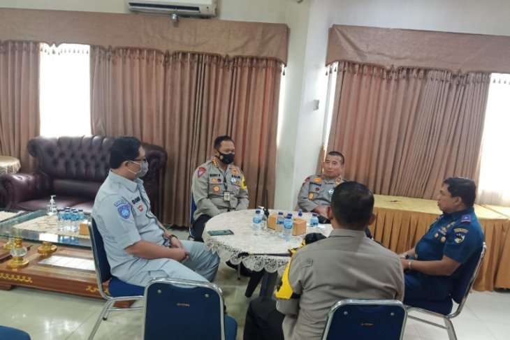 Kacab JR Banten dampingi Wakapolri survey jalur PAM Maulid Nabi Muhammad SAW