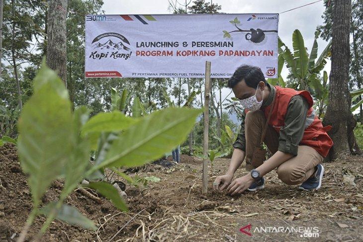 Pemberdayaan petani Kopi Kang