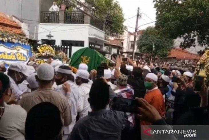 Tokoh FPI almarhum KH Fahrurrozi terkonfirmasi COVID-19