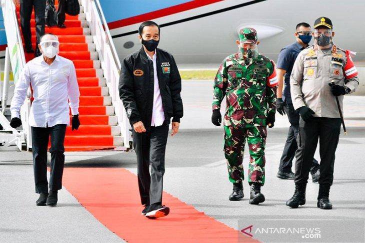 Presiden sebut lumbung pangan Sumatera Utara jadi contoh provinsi lain
