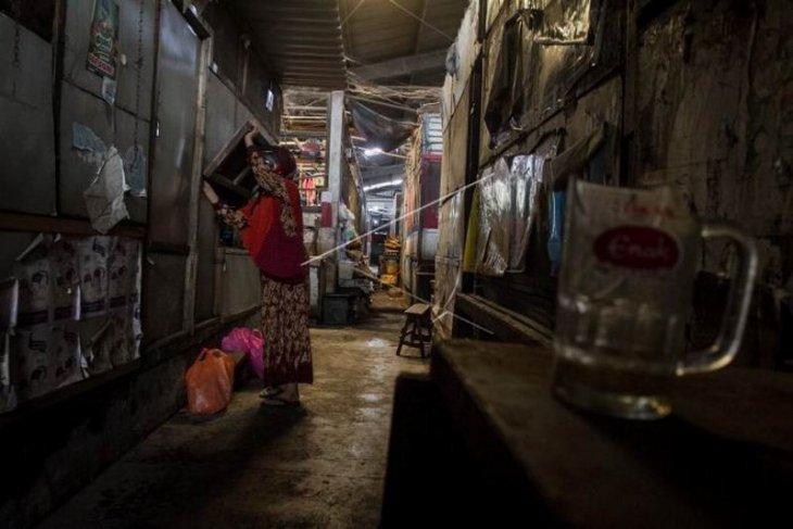 Pasar Harjodaksino ditutup selama sepekan