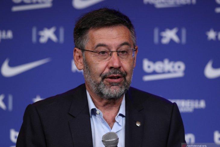 Bartomeu setujui Barca gabung kompetisi baru sebelum mengundurkan diri,