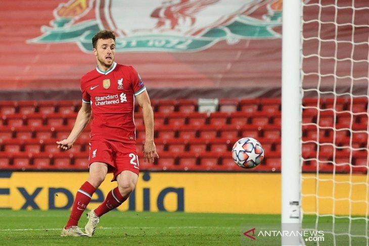 Diogo Jota mencetak gol lagi saat membantu Liverpool mengalahkan Midtjylland 2-0