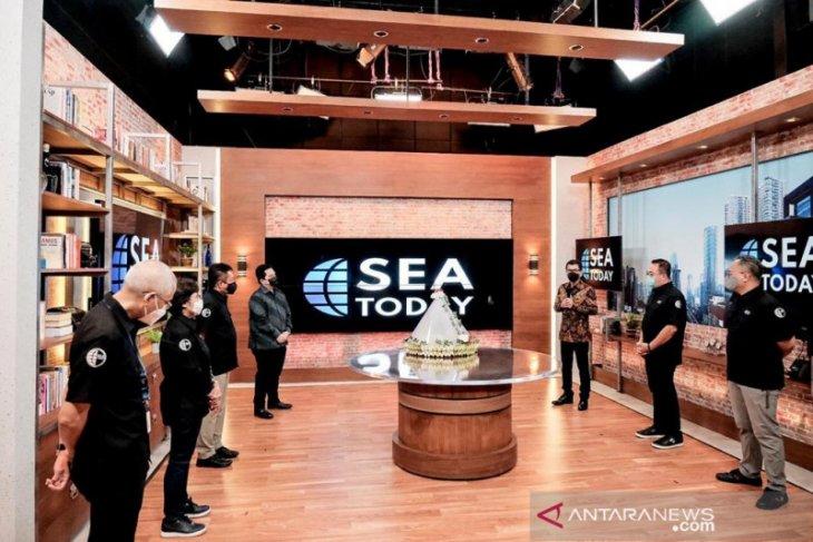 Menparekraf berharap saluran TV SEA Today turut promosikan sektor pariwisata RI