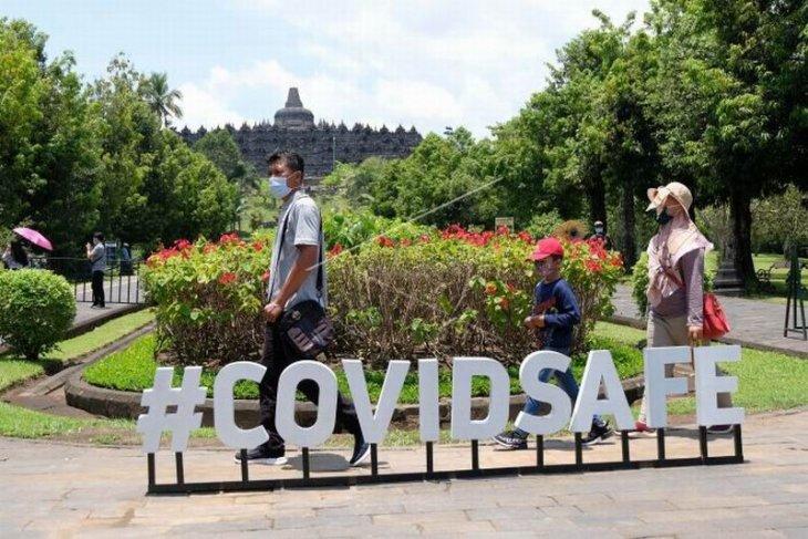 Wisatawan Candi Borobudur