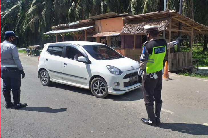 Polda: 844 kendaraan bermotor keluar Aceh saat libur panjang