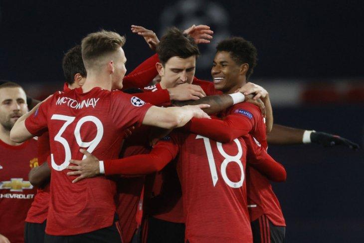 Liga Champions - Hattrick Rashford warnai kemenangan MU 5-0 atas Leipzig
