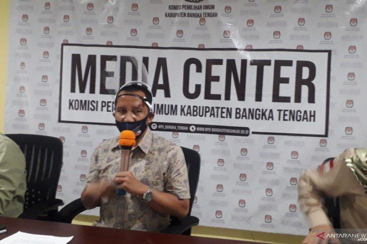KPU Bangka Tengah menargetkan partisipasi pemilih 77,8 persen