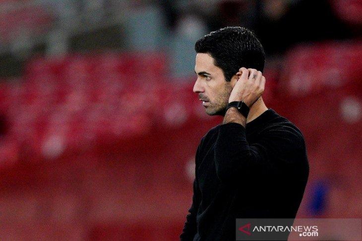 Arsenal kembali kalah, Arteta tak khawatirkan posisinya