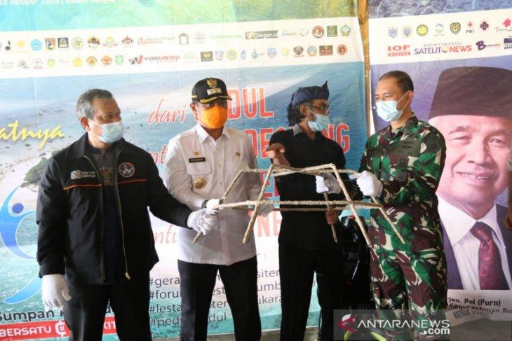 Pjs Bupati Pandeglang Apresiasi FPTK dan PUB Gagas Rehabilitasi Trumbu Karang