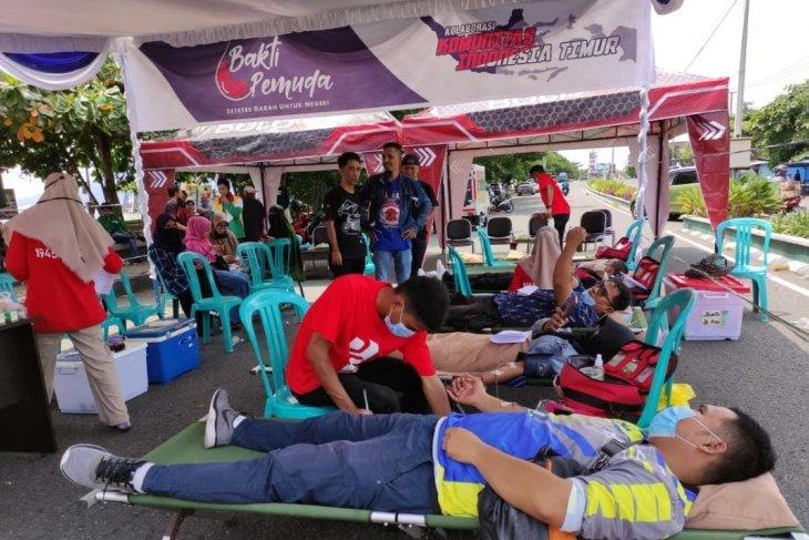 Komunitas Indonesia Timur raih dua rekor MURI donor darah