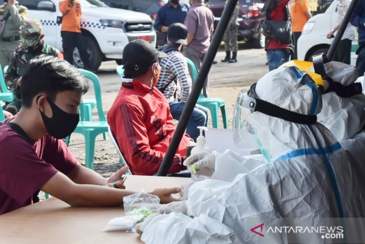Massive rapid testing conducted in West Java's 54 tourist sites