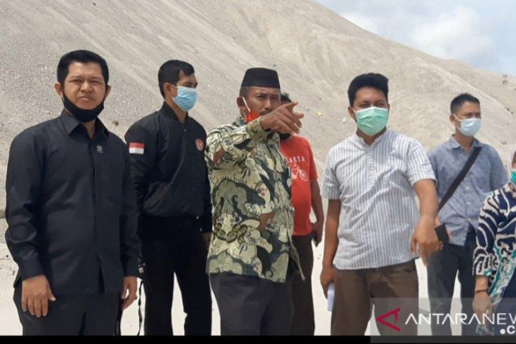 Ketua DPRD Bangka minta PT. Pulomas segera angkat pasir