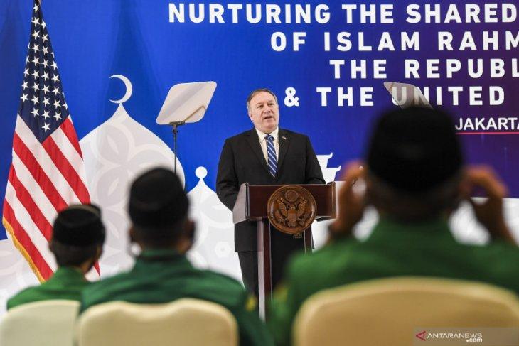 Saat bertemu tokoh NU, Pompeo tuding China sebagai ancaman umat beragama