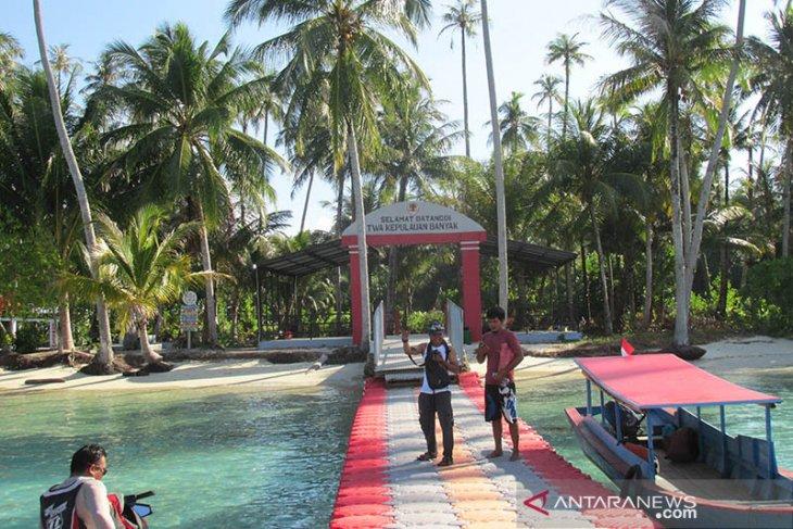 Kunjungan wisatawan ke Pulau Banyak meningkatkan saat libur panjang