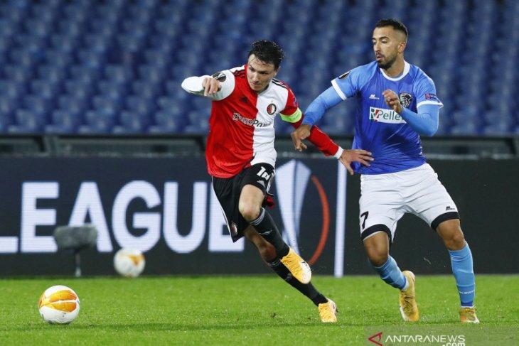 Liga Europa - Kalah 1-4 atas Wolfsberger, Feyenoord jadi juru kunci Grup K