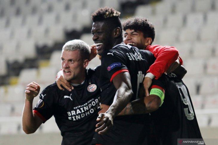 Liga Europa: PSV duduki peringkat kedua di Grup E usai menang 2-1 dari omonia