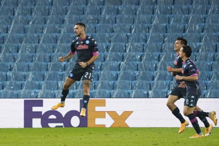 Napoli bawa pulang tiga poin usai menang tipis 1-0 atas Real Sociedad