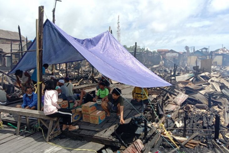 Kotabaru fire, hundreds of people lost their homes