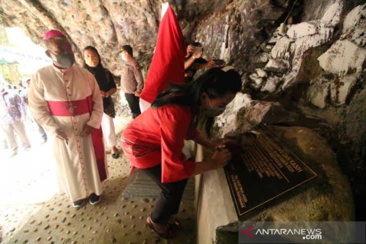 Karolin dorong Gua Maria Jelimpo jadi tujuan wisata religi