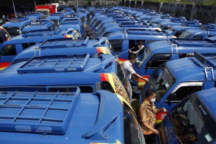 Persiapan revitalisasi penataan koridor angkutan