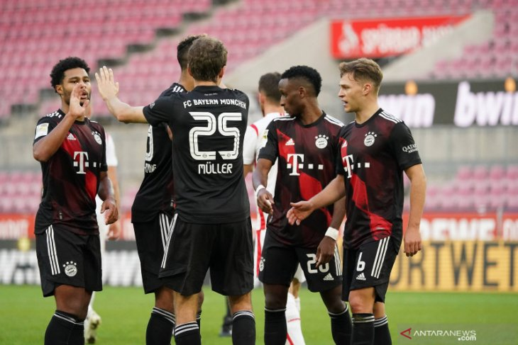 Bayern dan Dortmund kompak menang sekaligus salip Leipzig dari puncak