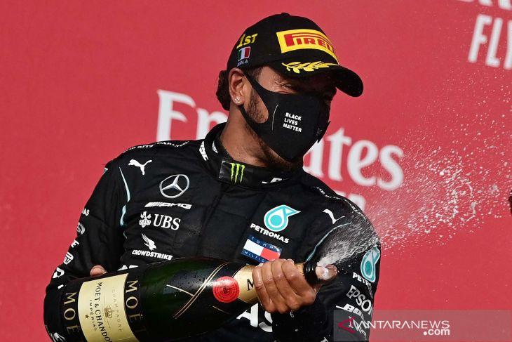 Lewis Hamilton bisa menyamai rekor tujuh gelar juara dunia Michael Schumacher